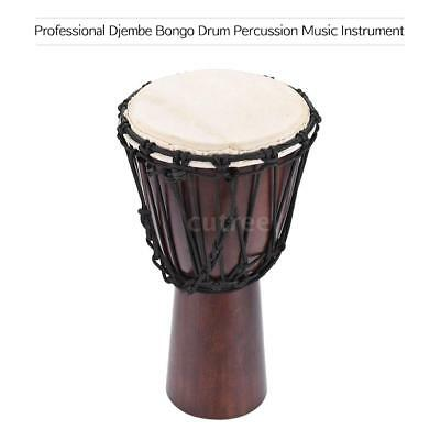 Professional African Drum Schaffell Material 8-inch Classic African Drum S8U9
