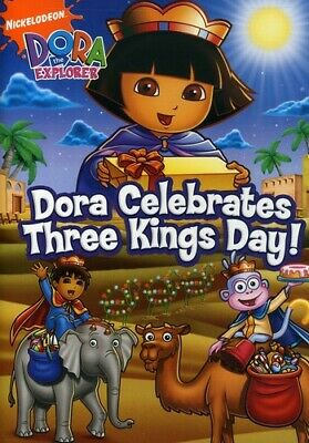 Dora the Explorer - Dora Celebrates Three Kings Day (DVD, 2008)