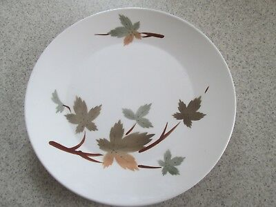 Primastone Large Serving Plate Autumn Leaves Pattern  Made In Japan