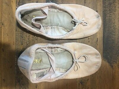 Bloch Ballet Shoes Pink Young Girls Size 11.5