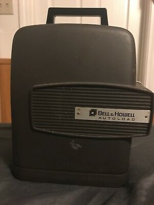 Vintage Bell & Howell Autoload Super Eight Design 346 A Movie Projector