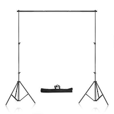 8.69x9.84ft Adjustable Photography Studio Backdrop Support Stand Background Kit