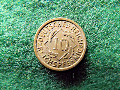 Germany 1936 A 10 Pfenning
