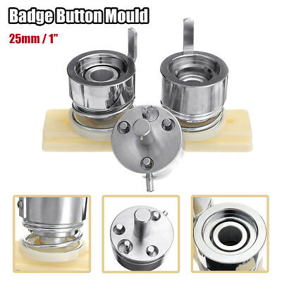 25mm 1'' Badge Pin Making Mould Button Maker Punch Press Machine Tool Metal DIY