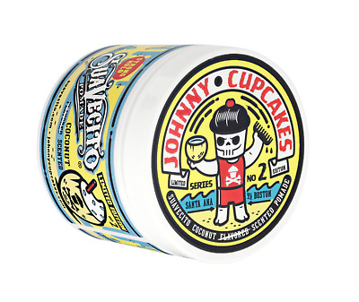 Suavecito X Johnny Cupcakes Coconut Scented | Pomade | Strong Hold