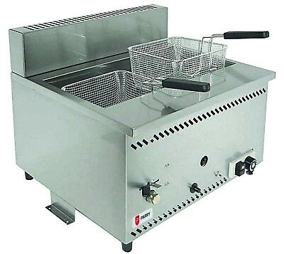 Parry AGF/N Table Top Natural Gas Fryer (Boxed New)