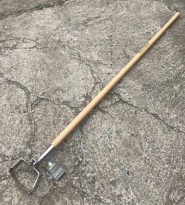 Kent & Stowe Stainless Steel Long Handle Oscillating Hoe - Garden Tool, Stirrup