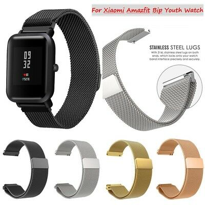 Stainless Steel Bracelet Watch Band Strap For Xiaomi Amazfit Bip Youth Watch New