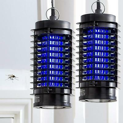 2 X Electric Insect Killer 240V Home Work Bugs Fly Mosquito Midges Pest Zapper