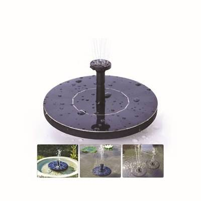 New Solar Fountain Pump Water Pump Water Fountain Pond US Stock