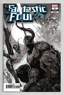 Fantastic Four (2018) #1 Party Sketch Variant Bagged Boarded Marvel Comics Vf
