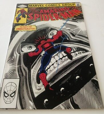 AMAZING SPIDER-MAN No. 230 1982 CO- STARRING THE JUGGERNAUT READING COMIC