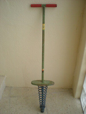 ANTIGUO SALTADOR DE MUELLE GORILA Vintage pogo stick MADE IN SPAIN retro
