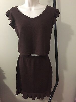 St. John Collection By Marie Gray 2 Piece Skirt Set Size 2