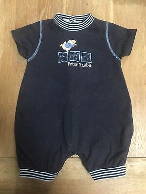Peter Rabbit Suit Baby Boy Romper Size 00