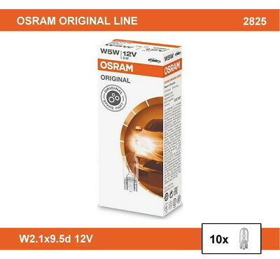 Osram W5w Original Line 2825 24v 10 Pc Auxiliary Lamps Eur 8 43