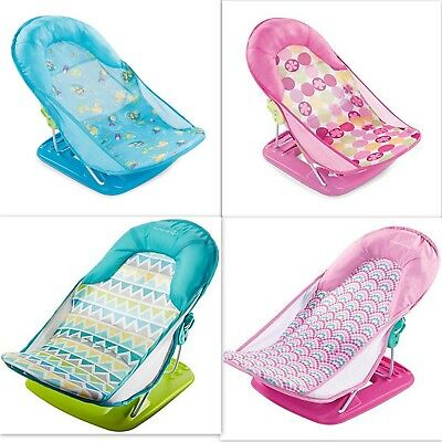 Summer Infant Baby Bather, Newborn Bath Deluxe Seat, Folding Chair tub