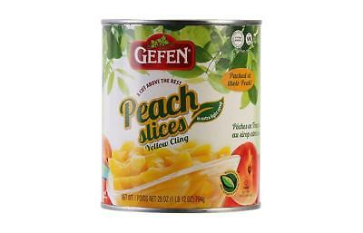 Gefen Peaches Sliced 820G