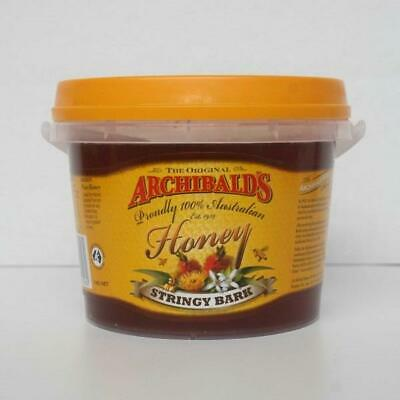 Archibaldes Honey Stringy Bark Flavour 1Kg Bucket