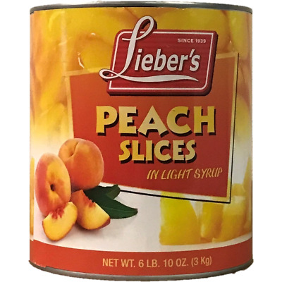 Liebers Peach Slices 3Kg