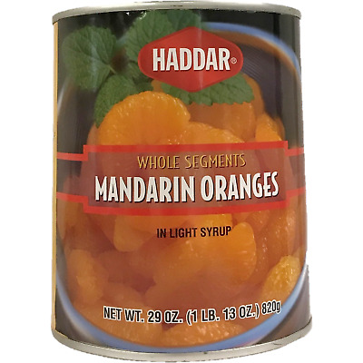 Haddar Mandarin Oranges Whole Segments 820G