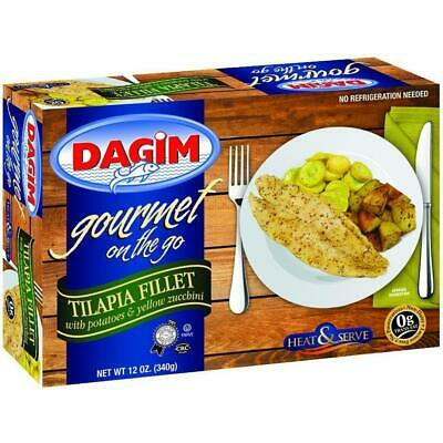 Dagim On The Go Tilapia Fillets With Pot & Zuc 340G