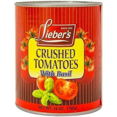 Liebers Crushed Tomatoes With Basil 790G