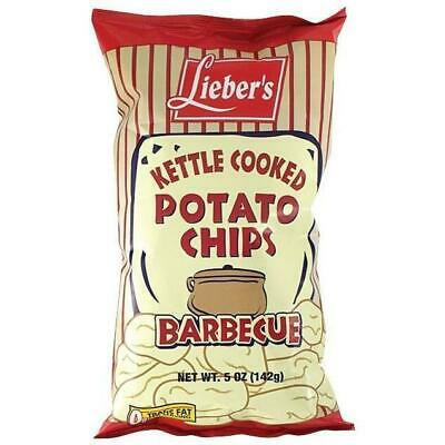 Liebers Bbq Kettle Chips 140G