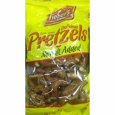 Liebers Dutch Pretzels Unsalted 368G