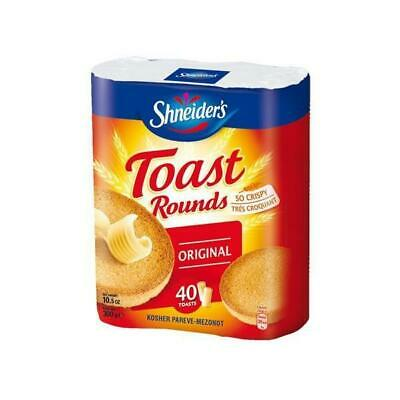 Shneiders Toast Rounds 300G