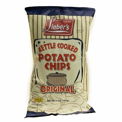 Liebers Kettle Chips Klp 140g