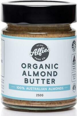 Alfie's Food Co Almond Butter Organic 250g