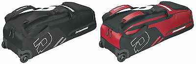 DeMarini Momentum Wheeled Baseball Bat Softball Wheel Equipment Bag