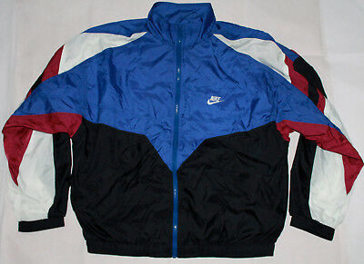 VINTAGE Nike Jacke L 90s 90er retro vtg Trainingjacket windbreaker