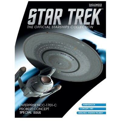Star Trek Eaglemoss NCC-Enterprise-C Probert Concept Special Issue