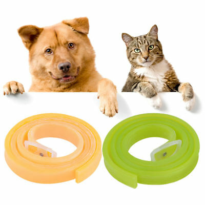Pet Dog Cat Flea Collar Kill Repel Flea Egg Mosquitoe Anti Tick Rubber Necklace