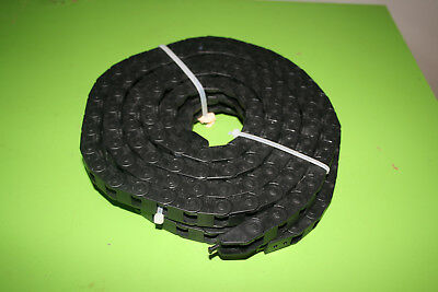 2 Pcs Kabelschlepp Energy Chain Kabelschleppkette Carriers 10x10 2.2 M Long