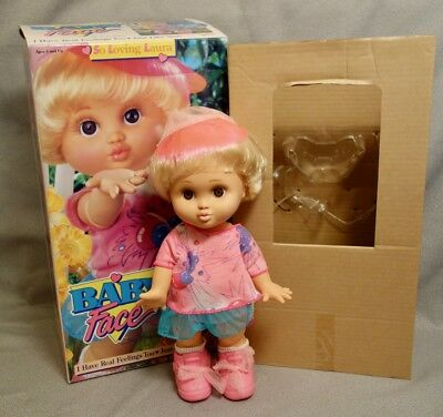 BABY FACE SO LOVING LAURA 1991 Doll - BRAND NEW in BOX - BLOWING KISSES FACE