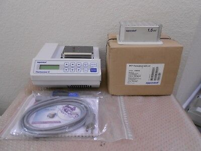 New Eppendorf Thermomixer R Mixer Shaker Incubator A New MTP & Used 1.5mL Block