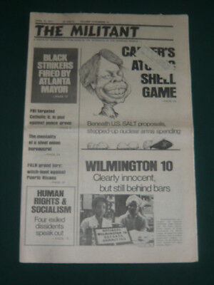 The Militant newspaper/Apr 15 1977/Skyhorse-Mohawk Case/Iran Protest Poems/SALT