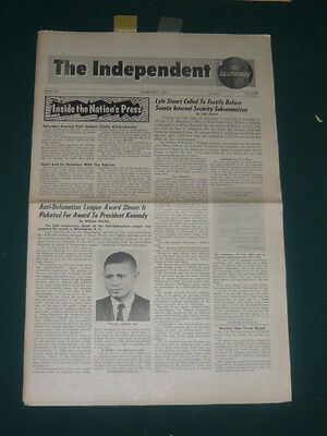 The Independent tabloid/Feb 1963/Vatican Haiti/William Worthy/Carleton Beals