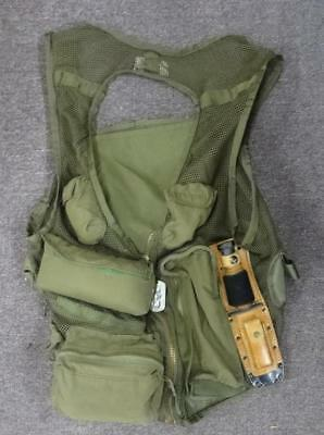 Army Aviation Survival Vest With Knife And Other Items -  #sv68