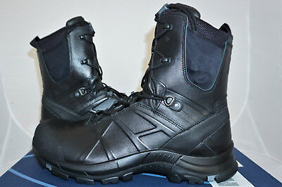 Haix Black Eagle Safety 50 High UK 12 EU 47 US 13 Arbeitsstiefel Polizei NEU!
