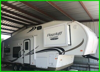 2011 Forest River Flagstaff Classic Super Lite 8528RKWS Fifth Wheel 2 Slide Outs