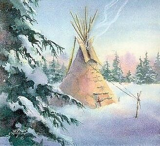 Beautiful QUIET TIPI by Sharon Sharpe WOW!!
