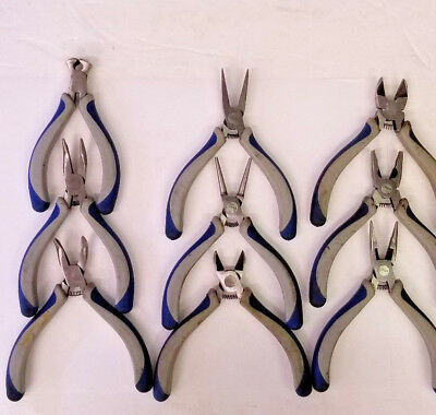 Blue Point Miniature Pliers & Cutter Set, 9 Pliers, Used