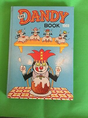 The Dandy Book 1969  - Vintage annual