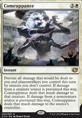 1x COMEUPPANCE - Rare - Commander - MTG - NM - Magic the Gathering