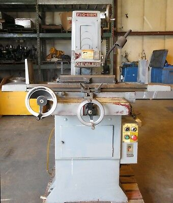 "CHEVALIER MANUAL SURFACE GRINDER 6"" x 18"" MODEL: FSG-618"