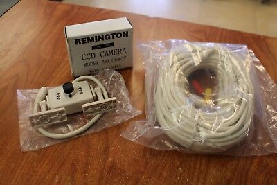 Remington CCD Security Camera Model #00807 With 60 Foot camera cable!
